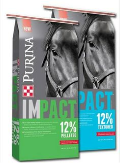 Horses hungry? Purina's Horseman's Edge #horsefeed is now Purina Impact horse feed. Same product, new packaging! Pick some up today! allaroundfeedandvet.com