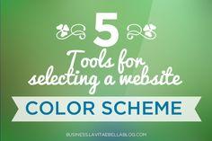 5 Tools for Choosing a Website Color Scheme - Web and Blog Design