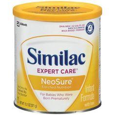 Similac NeoSure Infant Formula Powder with Iron 13.1-Ounces (Pack of 6)