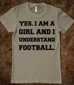 Like it's hard! I think all the girls in our family could wear this t-shirt and it would be a true statement for all.