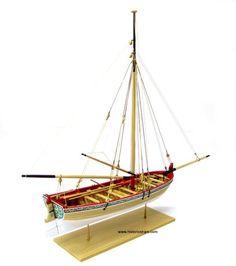 Longboat - 18th Century Wooden Model Boat Kit