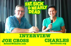 Interview w/  Joe Cross from Fat, Sick & Nearly Dead to talk about his GUILTY PLEASURES, HEALTH TIPS WHILE TRAVELING and his LATEST PROJECTS!  VIDEO Here: http://youtu.be/cVOfdbuXcmk