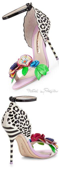 Sophia Webster ~ Lilico Floral Jungle Sandal, 2015