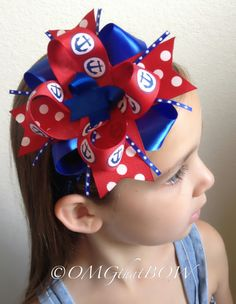 OMG that ANCHOR BOW by OMGthatBOW on Etsy, $8.00