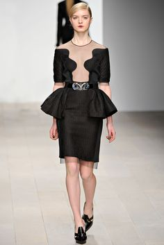 David Koma | Fall 2012 Ready-to-Wear Collection