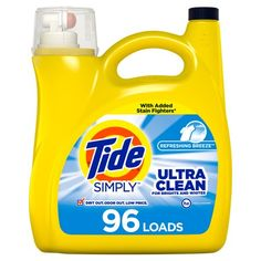 Tide Simply Clean, Laundry Stain Remover, Doing Laundry, Laundry Room, Liquid Laundry Detergent, Hard Water, Bright, Cleaning Products, Breeze