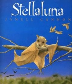 Stellaluna is a good book. Because well, I guess Stellaluna is a good book. Let me tell you some bat facts. Well, Stellaluna is also base.