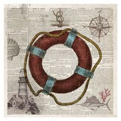 Nautical Collection IV - Mini at FramedArt.com