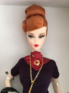 Mad Men Barbie Silkstone Doll BFMC Joan Holloway