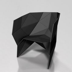 Amazing how origami can inspire some very modern furniture! RT if you want one of these chairs in your office!