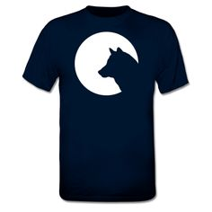 Wolf And Moon T-Shirt / Available on Shirtcity  http://www.shirtcity.de/-8989ef2bf984eecebfadb0912ea948e5-/wolf-and-moon-t-shirt-89508/