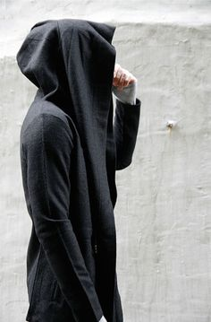 Avant-garde Diabolic Cape Coat-Coat 08