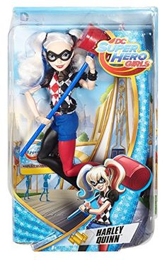 Unleash your power and explore your inner hero with DC Super Hero action dolls! Inspired by the powerful students of DC Super Hero High the DC Super Hero Girls action dolls are ready for powerful ...