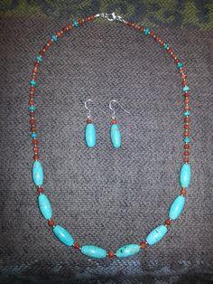 Artisan Handcrafted Magnesite Goldstone & by AngelStarJewelry, $45.00