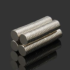 Only US$6.99, buy best 100pcs N52 NdFeB Super Strong Disc Magnets 10mm x 2mm Rare Earth Neodymium Magnets sale online store at wholesale price.US/EU warehouse.