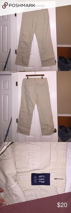 Mens Gap Khaki Pants Like New Mens Gap Khaki Pants, size L. Draw String Excellent Condition. GAP Pants Chinos & Khakis