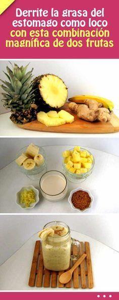 Cocina – Recetas y Consejos Healthy Juices, Healthy Smoothies, Healthy Drinks, Healthy Tips, Smoothie Recipes, Smoothie Drinks, Diet Recipes, Healthy Snacks, Healthy Eating