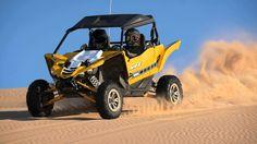 Sem música, sem falar apenas  3 minutos de Yamaha YXZ1000R rasgando o deserto. O som do motor tricilindrico em linha de 998cc . Aumente o volume e desfrute.