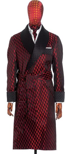 Smoking Jacket Should Also Have At Least Side Pockets At