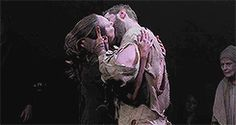 """How i love thee"" Rijchard Armitage, last scene of The Crucible 2014"