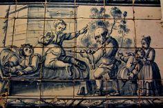Cena de medicina, Museu Nacional do Azulejo.