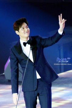 Lee Min Ho, Le Eco Awards, 20160413.