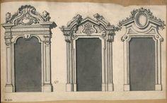 [Trois portes ou fenêtres] | Centre de documentation des musées - Les Arts Décoratifs
