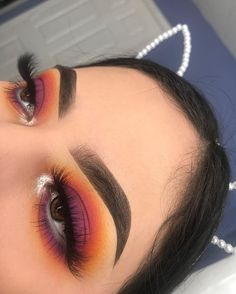 Sweet eyeshadow looks with Jaclyn Hill palette, so make-up artist Kingston . - Dress Models - Make-Up Makeup Eye Looks, Eye Makeup Tips, Cute Makeup, Makeup Goals, Skin Makeup, Makeup Inspo, Eyeshadow Makeup, Makeup Inspiration, Eyeshadow Ideas