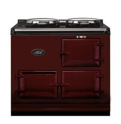 2OVENAGACOOKERELECTRICCLARET by Aga in Arkansas, Kansas, Missouri, & Oklahoma - Claret 2-Oven AGA Cooker (electric) Electric fuelled cast-iron cooker