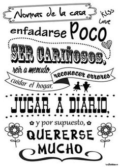 See related links to what you are looking for. Mr Wonderful, Pretty Quotes, Spanish Quotes, Family Love, Family Rules, Sentences, Slogan, Screen Printing, Printables