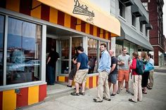 Dirty Frank's Hot Dog Palace in Columbus -- One of the best gourmet hot dog restaurants in the area!