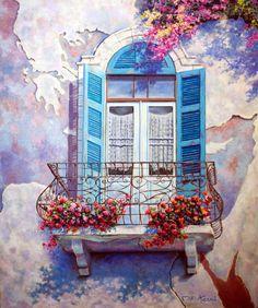 Miki Karni #watercolor jd