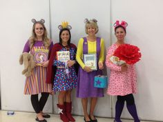 chrysanthemum book character costume - Google Search