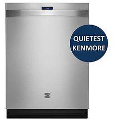 "Kenmore Elite -24"" Built-In Dishwasher - Stainless Steel ENERGY STAR®"