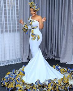 AFRICAN WEDDING DRESSES STYLES TO ROCK THE EVENT African Bridal Dress, African Print Wedding Dress, African Party Dresses, African Wedding Attire, Latest African Fashion Dresses, African Dresses For Women, African Attire, Bridal Dresses, African Weddings