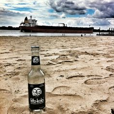 Elbe and Fritz-Kola, Hamburg