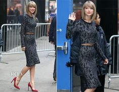 Taylor Swift In Calvin Klein Collection - Good Morning America