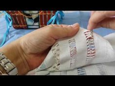 Drawn Thread, Irish Lace, Crafty, Embroidery, Stitch, Accessories, Youtube, Handmade, Linen Tablecloth