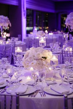 Breathtaking New Jersey Wedding from Wayne and Angela - wedding centerpiece idea