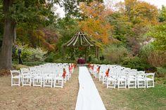 Rutgers Garden is a beautiful venue for a fall wedding. #njweddingvenues #rusticwedding #uniqueweddingvenueideas #outdoorweddings #outdoorweddingvenues #uniquenjvenues