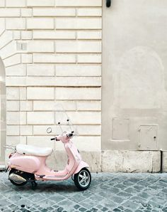 Bedroom Wall Collage, Photo Wall Collage, Picture Wall, Summer Aesthetic, Aesthetic Vintage, Pink Aesthetic, Vintage Moped, Vintage Cars, Vintage Pink