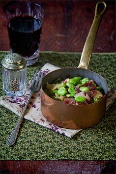 Tapas - Broad Bean and Jamon