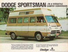 1971 Dodge Sportsman Camper van
