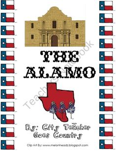 The Alamo Powerpoint - Texas History from City Teacher Goes Country on TeachersNotebook.com (26 pages)