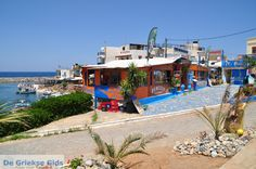 Remezzo Fish Restaurant, Sissi harbour, Crete, Greece.