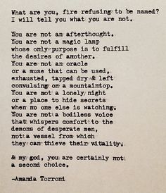 & my god, you are certainly not a second choice.