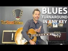 Easy Way to Play Blues Turnaround in ANY Key - YouTube