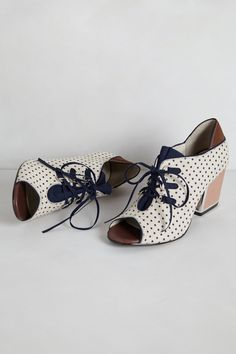 Heather Lace-Up Heels - anthropologie.com