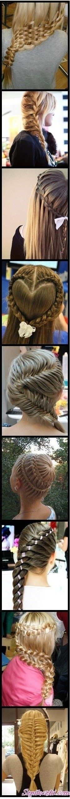 Cool braids.....Want to try these :)