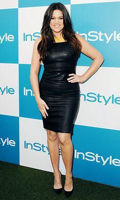 Khloe Kardashian...she looks amazing!